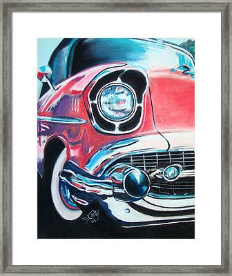 Chevy Style Framed Print