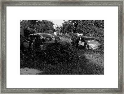 Chevys By The Levee Framed Print