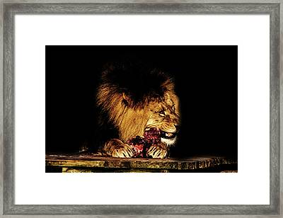 Chew On That Framed Print