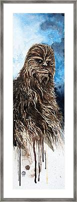 Chewbacca Framed Print by David Kraig