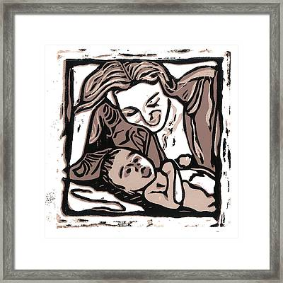 Chey And Lucca 2 Framed Print