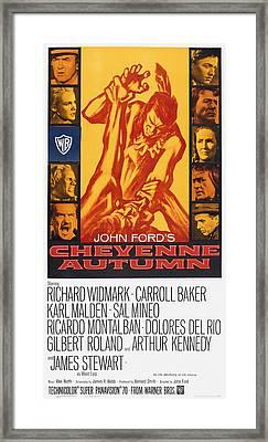 Cheyenne Autumn, Us Poster Art Framed Print