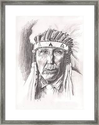 Cheyenne Framed Print