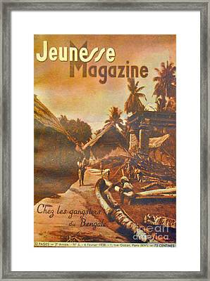 Chez Bengale Framed Print by Jost Houk