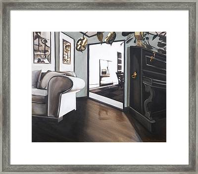 Chez Moi Framed Print by Erin Brinkman