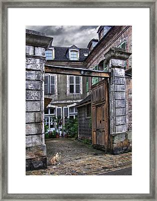 Chez Moi Framed Print by Nikolyn McDonald