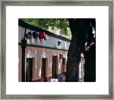 Chez Trois Chapeaux Framed Print by Juan Carlos Ferro Duque