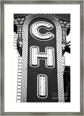 Chi Framed Print by John Rizzuto