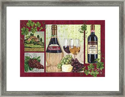 Chianti And Friends 2 Framed Print
