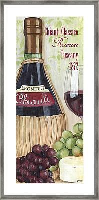 Chianti Classico Framed Print by Debbie DeWitt