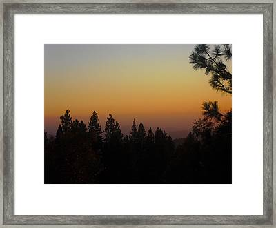 Framed Print featuring the photograph Chiaronaturo II by Ursel Hamm and Kristen R Kennedy