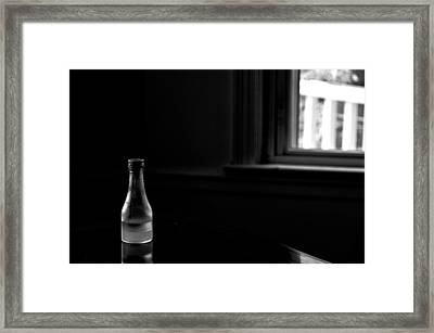 Chiaroscuro Framed Print by Guillermo Hakim