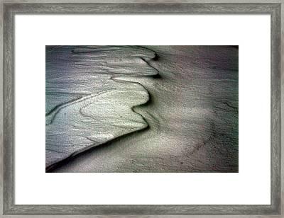 Chiberia - Snow Ripple Framed Print