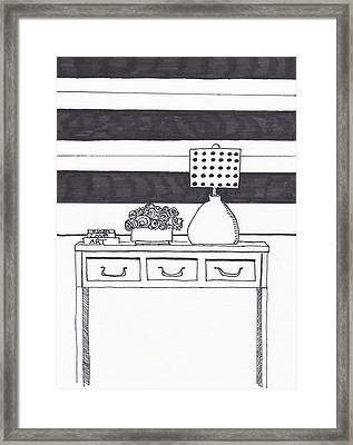 Chic Interiors Framed Print