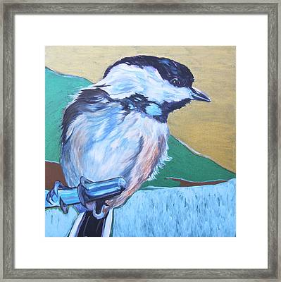 Chicadee Framed Print