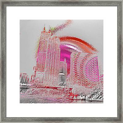 Chicago 1 Framed Print by Soumya Bouchachi