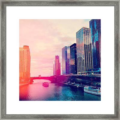 Chicago #1 Framed Print by Stacia Blase