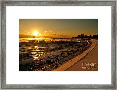 Chicago -20  Framed Print