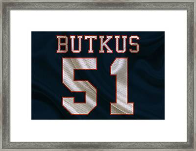 Chicago Bears Dick Butkus Framed Print