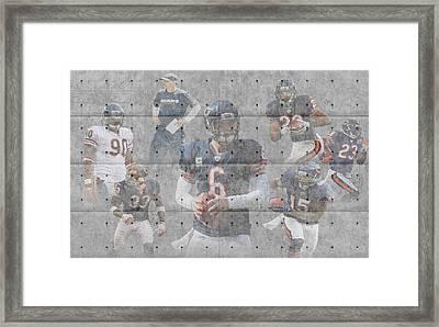 Chicago Bears Team Framed Print