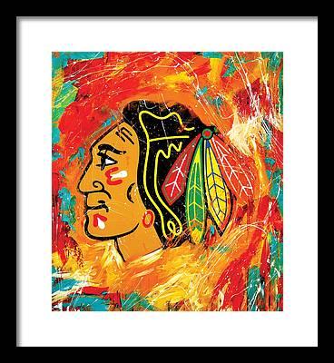 Hockey Framed Prints