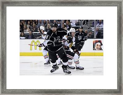 Chicago Blackhawks V Los Angeles Kings Framed Print