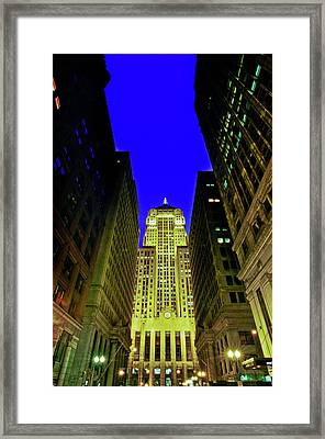 Chicago Board Of Trade Building Framed Print
