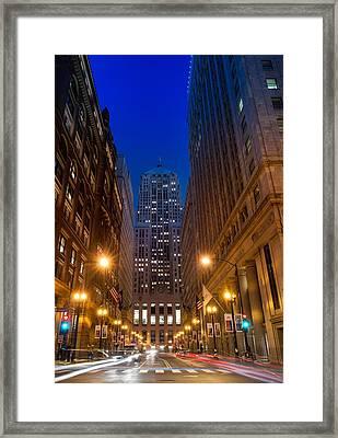Chicago Board Of Trade Framed Print by Steve Gadomski
