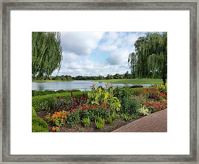 Chicago Botanical Gardens - 95 Framed Print by Ely Arsha