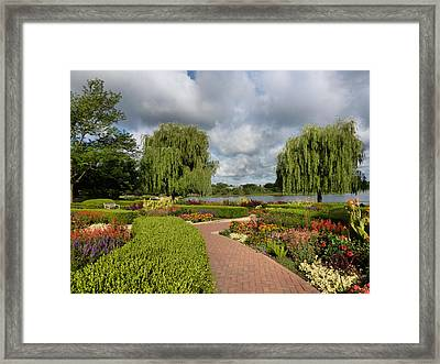 Chicago Botanical Gardens - 97 Framed Print by Ely Arsha