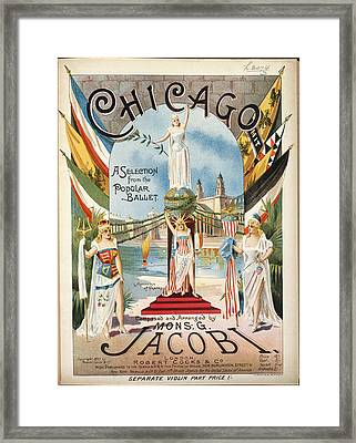 Chicago Framed Print by British Library