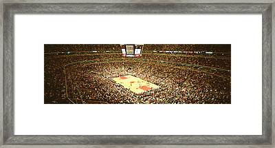 Chicago Bulls, United Center, Chicago Framed Print by Panoramic Images