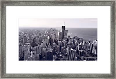 Chicago Bw Framed Print