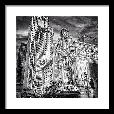 Marquee Framed Prints