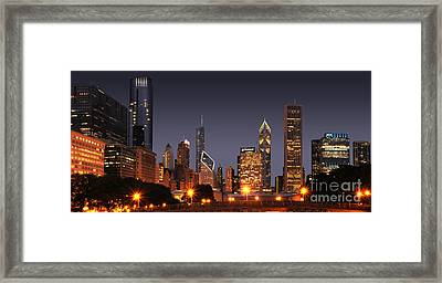 Chicago City Framed Print