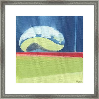 Chicago Cloud Gate 77 Of 100 Framed Print by W Michael Meyer