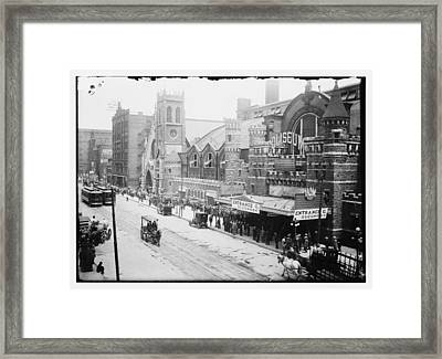 Chicago Coliseum 1912 Framed Print by Historic Photos
