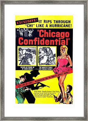 Chicago Confidential, Us Poster, Jack Framed Print by Everett