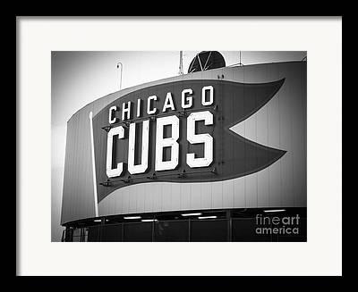 Cubs Baseball Park Framed Prints