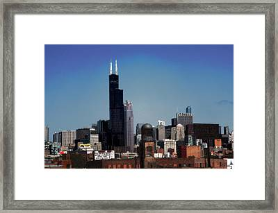 Chicago Framed Print by David Blank