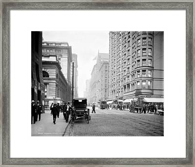 Chicago Dearborn, C1907 Framed Print by Granger