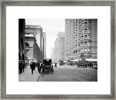 Chicago Dearborn, C1907 Framed Print