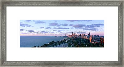 Chicago, Diversey Harbor Lincoln Park Framed Print
