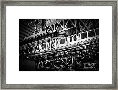 Chicago Elevated  Framed Print