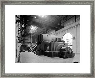 Chicago Fisk Station Framed Print