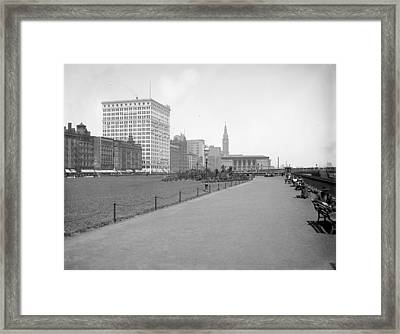 Chicago Grant Park, C1905 Framed Print by Granger