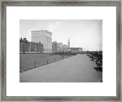 Chicago Grant Park, C1905 Framed Print