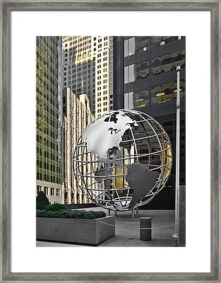 Chicago - Home Of Fine Art Framed Print