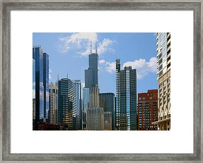 Chicago - It's Your Kind Of Town Framed Print by Christine Till