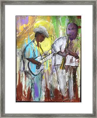 Chicago Jam Framed Print
